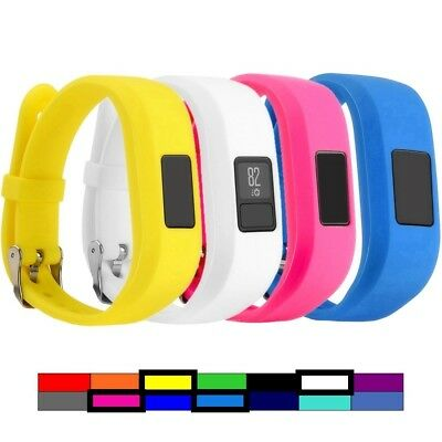 (4PCS - 1) - For Garmin Vivofit 3 and Vivofit JR, Dunfire Colourful Accessory