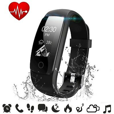 (ID107Plus HR) - Fitness Tracker Heart Rate - COOLEAD ID107Plus HR Music