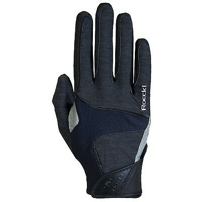 (6.5, Anthracite) - Roeckl Mendon Glove. Free Delivery