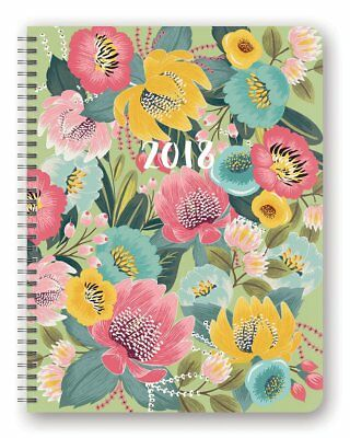 Orange Circle Studio 2018 Extra Large Flexi Planner, Aug. 2017 - Dec. 2018, Bold