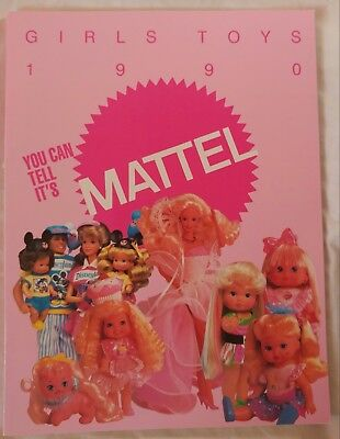 Mattel 1990 Girl's Toys Catalog - 114 Pages - Barbie, Cherry Merry Muffin, More!