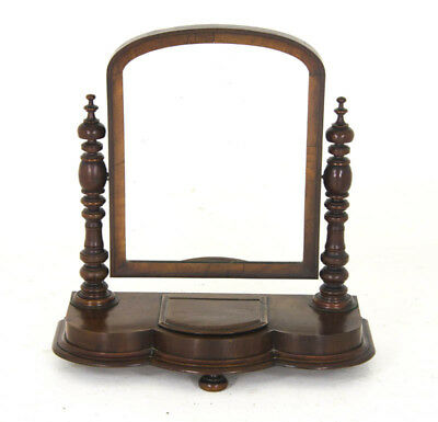Antique Dressing Mirror, Vanity Mirror, Mahogany Mirror, Scotland, 1880, B916