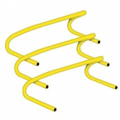 Champion Sports CHA138 15cm . Speed Hurdle Made of Lightweight Plastic44; Yellow