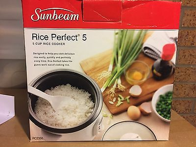 Sunbeam Rice Perfect 5 Cup Rice Cooker