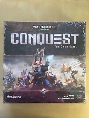 BRAND NEW Warhammer 40000 Conquest The Card Game
