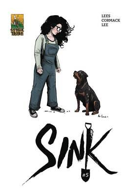 Sink #5 Cormack Cover Comixtribe Comics Horror Clowns 50/50 Cover Split Preorder