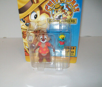 Disney Afternoon Chip 'n Dale: Rescue Rangers Dale and Zipper Action Figure