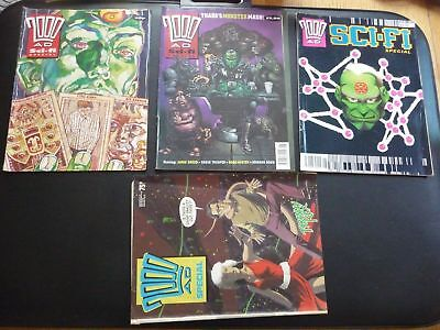 4 x 2000AD Sci-fi Specials 1990, 1991, 1992 plus other (LOT#1619)