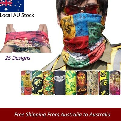 Bicycle Magic Headband Sports Neck Cycling Face Mask Bike Head Scarf Camouflage
