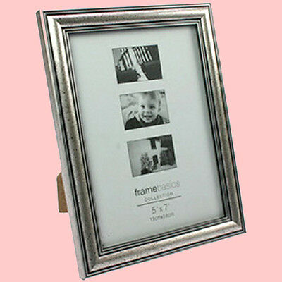 Photo Frame Picture Old, Antique Silver Wood Image Format 13x18
