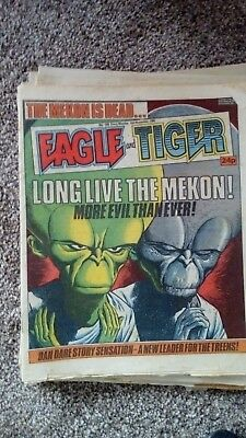 Eagle  and tiger Comics 1985-6  buy 4 get 1 free