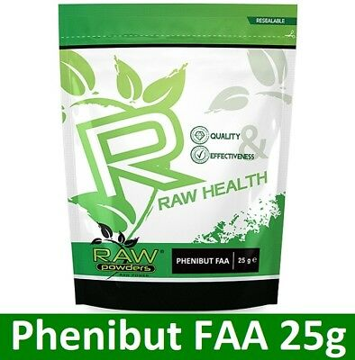 RAW Health FAA 25g powder - relaxation - mood - restful sleep