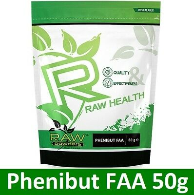 RAW Health FAA 50g powder - relaxation - mood - restful sleep