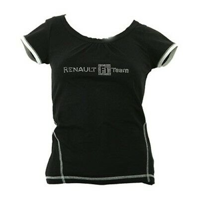 Damen T-Shirt schwarz Race Renault F1 Team XL