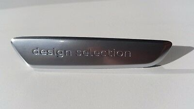 Audi Exclusive Original Design Selection Embleme Schriftzug Plakette Quattro