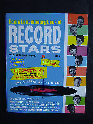 RADIO LUXEMBOURG BOOK OF RECORD STARS No. 2 ~ ANNUAL ~ VINTAGE 1963