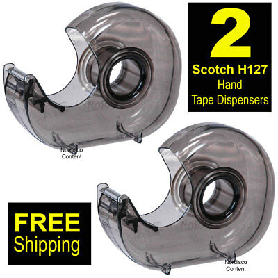 "2 Each, Scotch H127 Hand Tape Dispenser For 1"" Core Tapes"