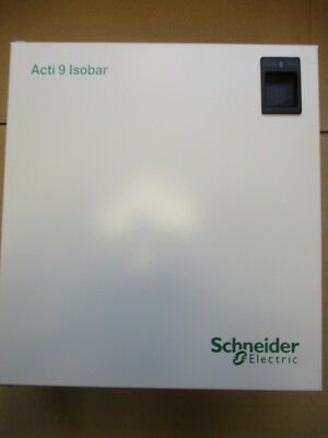 Schneider Electric SEA9AN6 Acti 9 Isobar 6 Way Single Phase Distribution Board