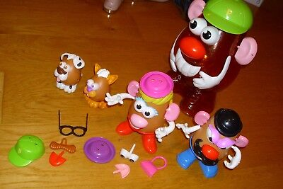 large mr potato head storage plus bundle of accessories
