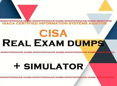 ISACA CISA Certified Information Systems Auditor real exam dumps Q&A + simulator