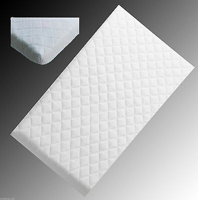 CRIB Cot Mattress Pram Swing Baby Bed Mattresses Breathable Quilted All Sizes