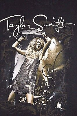 Taylor Swift Concert T-shirt Adult Small Graphic Band Short Sleeve Tour Cities