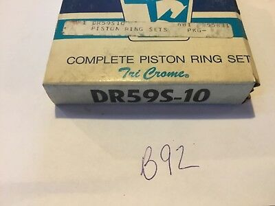 Wisconsin DR59S-10 piston ring set