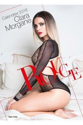 Calendrier 2018 Rouge de Clara Morgane. 24 Photos