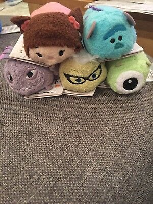 Disney Store Monsters Inc Mini Tsums Brand New With Tags