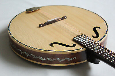 Mandolin with Beautiful Pearl and Abalone inlay Art Work