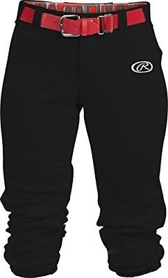 (Large, Black) - Rawlings Sporting Goods Girls Launch Pant. Shipping Included