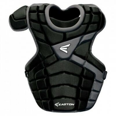 (Red/Silver) - Easton M10 Intermediate Catcher's Chest Protector