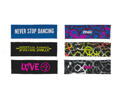 Zumba® Spiritual Dance Reversible Headbands 3 pk - New in package!