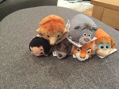 Disney Store Jungle Books Tsum Minis Brand New With Tags X 6