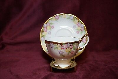 Royal Albert  Unnamed # 866 Teacup and Saucer 1927-1935 Pattern  # 2128