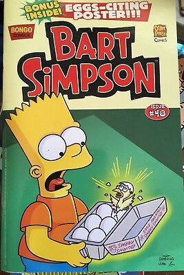 The Simpsons - Bart Simpson With Poster, Issue #48 Bongo Comic Pb Book