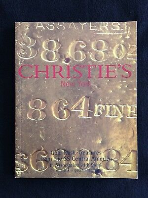 Christie's Ny Gold Rush Treasures From Ss Central America Shipwreck Dec 2000