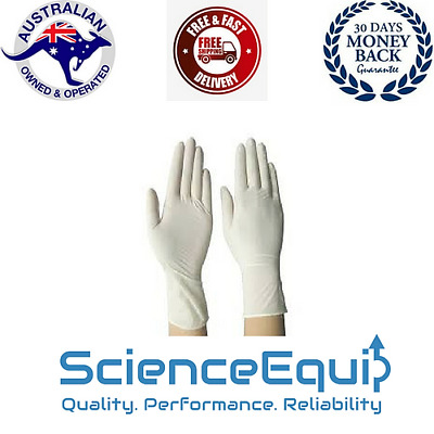 Latex Surgical Gloves POWDERED, Premium, Sterile, Choice of 1/10/20/50 Pcs/Pack