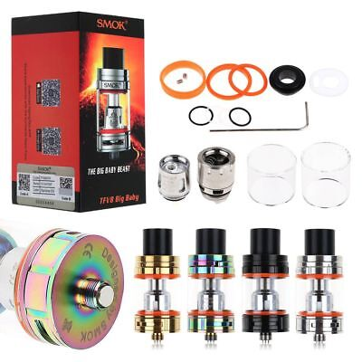 FOR Smok TFV8 Big Baby Beast Replacement Tank with TFV8 Baby Coils V8-X4 T6 0.15
