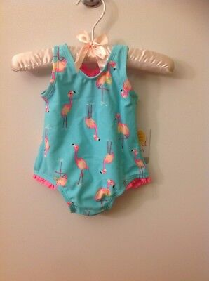 Girls Baby Carter's Just One You One Piece Swimsuit UPF 50+ Size 3M NWT