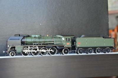 Lemaco I-026 - STEAM LOCOMOTIVE 141 P 17, SNCF, Green - 1 Gauge New Condition
