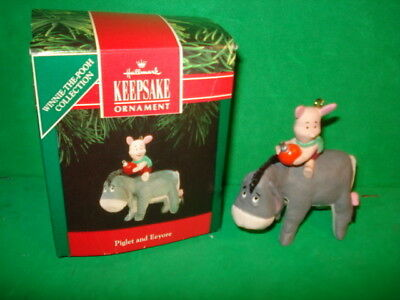 Hallmark Piglet and Eeyore Ornament