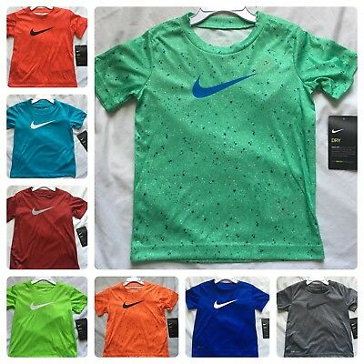 Nike Dri-Fit T-Shirt 2T, 3T, 4T, Kids, $20 Gift Short Sleeves Green, Blue, Red