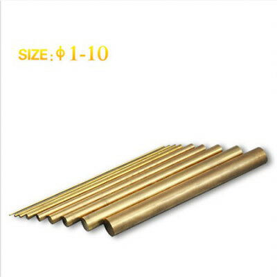 20 Pcs ø1-10 Brass Round Bar,L=100mm, Used in Portable EDM/Tap Disintegrator