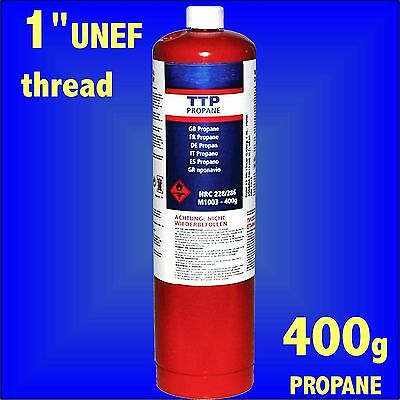 Propane Gas 400g Bottle Disposable Cylinder plumbers blow torch jet burner