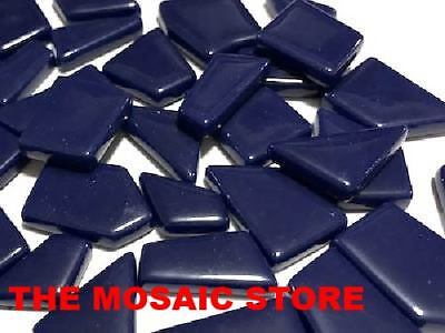 Royal Blue Irregular Gloss Glass Tiles | Mosaic Craft Art Tiles Supplies