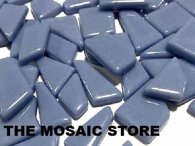 Sky Blue Irregular Gloss Glass Tiles | Mosaic Tiles Supplies Art Craft
