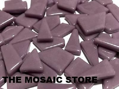 Lilac Irregular Gloss Glass Tiles | Mosaic Tiles Supplies Art Craft
