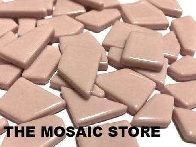 Pink Irregular Gloss Glass Tiles | Mosaic Tiles Supplies Art Craft