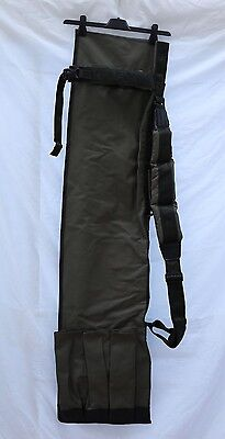 NEW SKS SONIK LARGE 3 ROD QUIVER FISHING BAG HOLD ALL & 2 x REEL WRAP/ POUCH